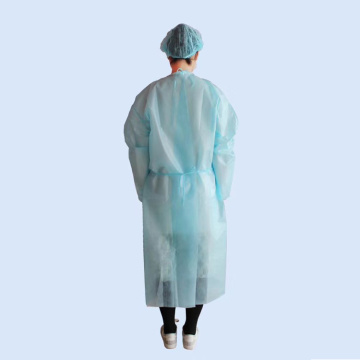 hospital coverall non woven isolation disposable medical protective isolation coverall suit