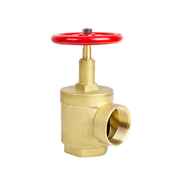 Internal Hydrant Brass Fire Landing Valve Angle Type