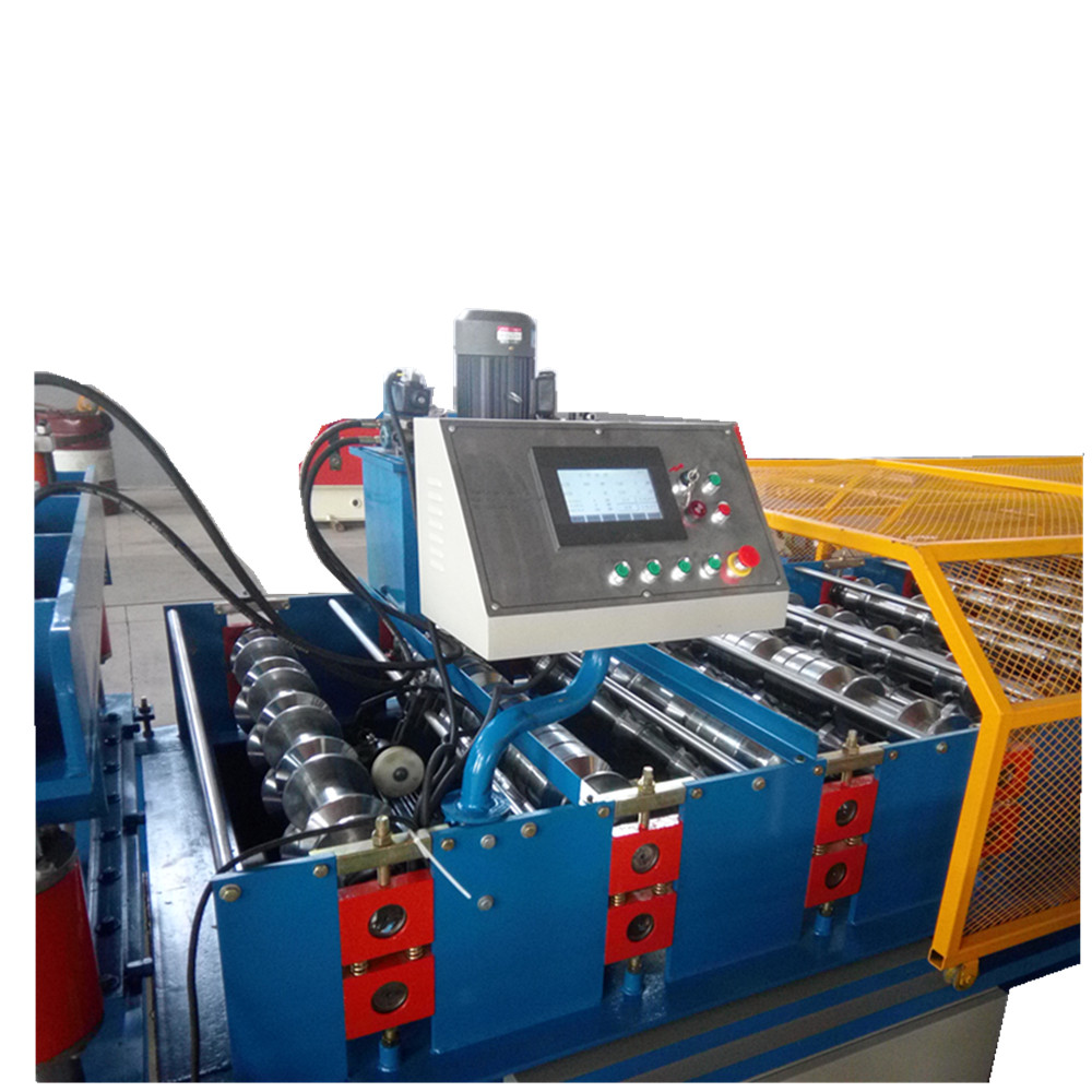 Colored Steel Used Roll Forming Machine