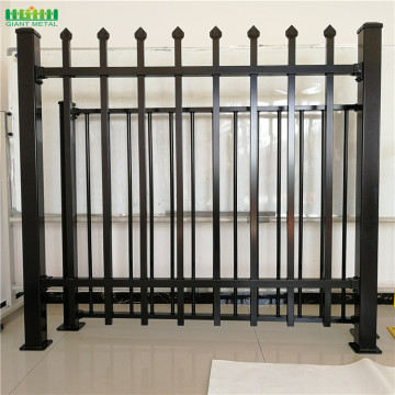 metal fence panels residential