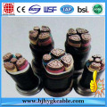 0.6/1KV 3x185+1x95mm2 Copper Core XLPE Electrical Cable