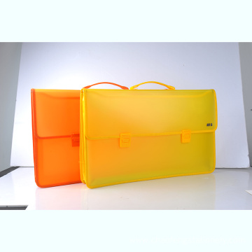 A4 plastic file file box with hang