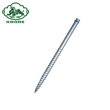Fence Post Galvanized Metal Screw Pile Anchors