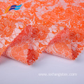 100% Polyester Flower Embroidered Ladies Suit Fabrics