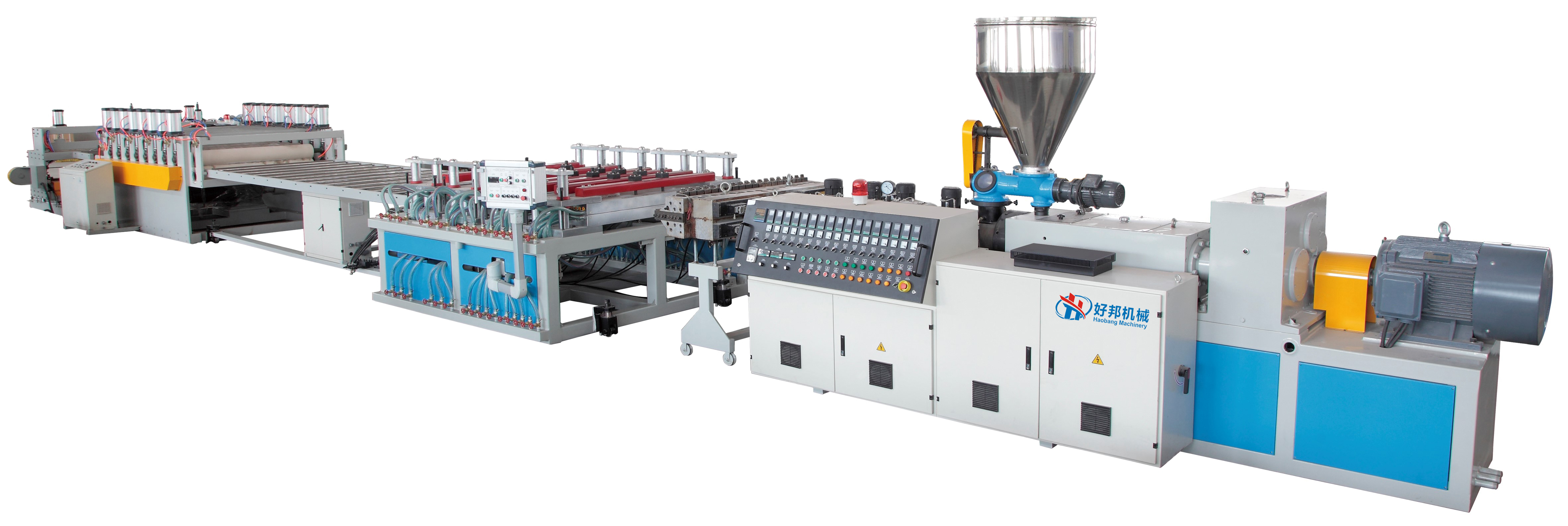 WPC PVC foam board machine