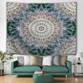 Bohemian Tapestry Mandala Wall Hanging Indian Style Boho Psychedelic Hippie Wall Tapestry for Livingroom Bedroom Home Dorm Decor