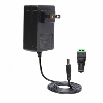 UL 120VAC to 9VDC 2.5A Power Supply Adapter