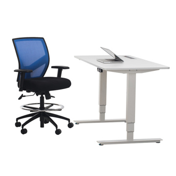 Electric Height Adjustable standing Desk Frame Dual