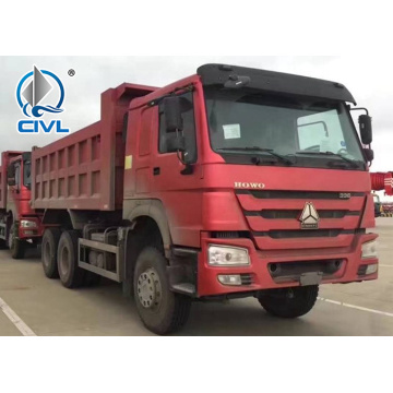 6x4 25m3 Load Capacity 266hp Tipper Truck
