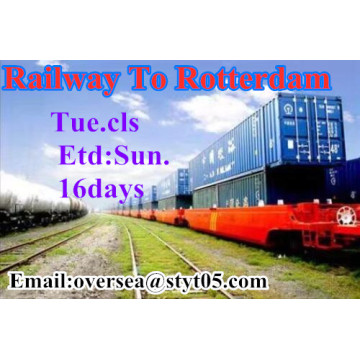 Railway Transportation To Rotterdam
