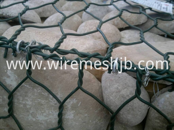 PVC Coated Gabion Basket