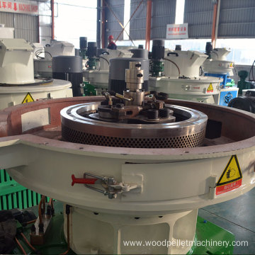 High Capacity Vertical Ring Die Pellet Machine