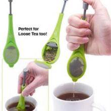 Tea Infuser Built-in plunger Healthy Intense Flavor Reusable Tea bag Plastic Tea&Coffee Strainer Measure Swirl Steep Stir Press