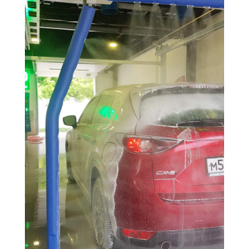 High pressure touchless car washing systems