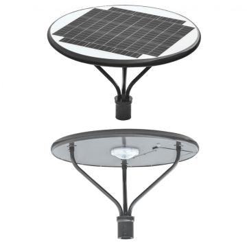 50W Solar Post Top Lights for Parking Pots