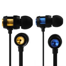 Universal 3.5mm In-Ear Super Bass Earbuds Earphone Headphone with Microphone for Phone PC Aging resistance Earphones наушники