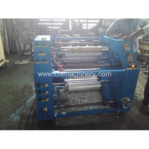 Stretch / Cling Film Cutting Slitting Maker