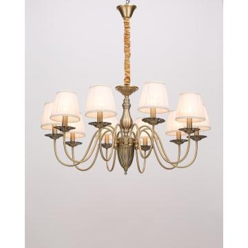 American Style Vintage Indoor Living Room Iron Chandelier