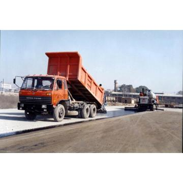 Chip spreader mounted dumper truck for sale