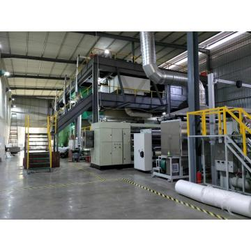 3.2m SSS PP spunbond nonwoven fabric making machine