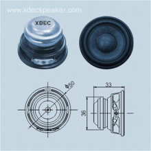 2 inch 50mm 4ohm 5w full range speaker
