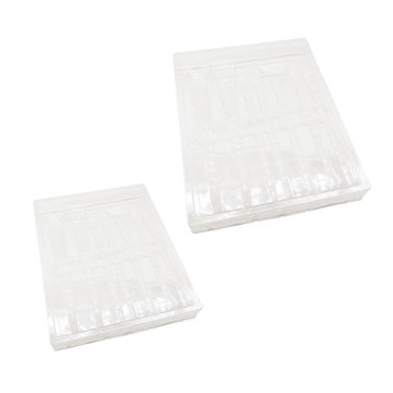 Custom clear plastic cosmetic blister trays packaging