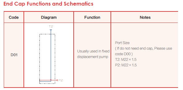 End Cap Functions and Schematics