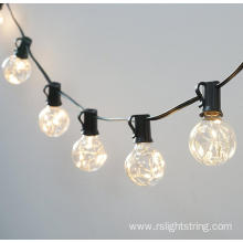 G40 Copper Wire String Lights Commercial Grade