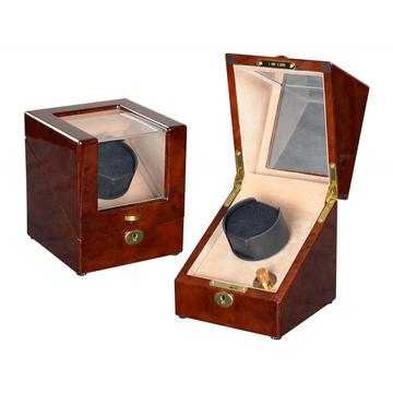 single watch winder in black