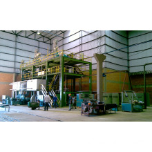 High efficiency AL-1600 SS 1600mm non woven fabric making machine with low price