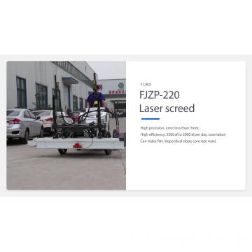 Laser Leveling Screed Machine form Factory (FJZP-220)