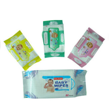 Production Line Antibacterial Baby Wet Wipes
