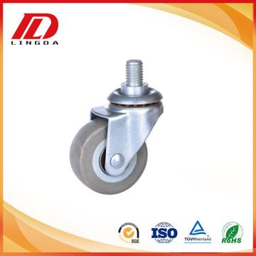 2 inch customized thread stem casters