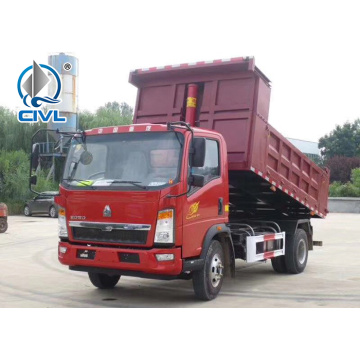 HOWO 4X2 right hand drive  tipper truck