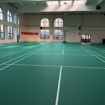 International standard sports court badminton floor