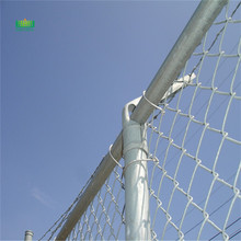 Diamond mesh fences installation