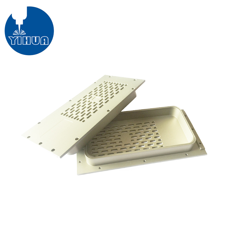 Sandblasted Aluminum Electronic Part