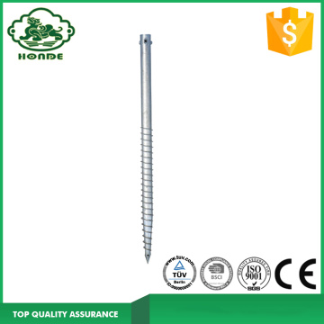 Heavy Duty Ground Anchor For Solar Mounting