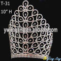 10 Inch large custom crowns and tiaras wholesale