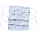 Blue 3 Ply Disposable Earloop Face Masks