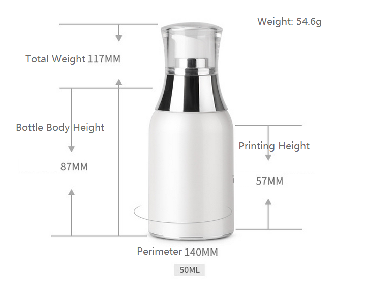 50ml airless bottle