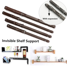 Metal Invisible Shelf Brackets Heavy Duty Concealed Hidden Furniture Wall Mount Shelf Durable Support Bench Board Convenient