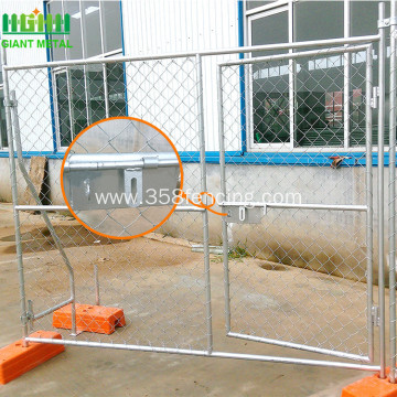 Galvanized Temporary Fence Construction Chain Link Fence