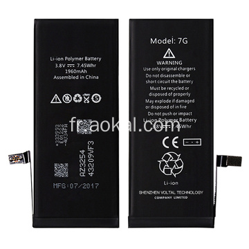 Rappel original du remplacement de la batterie de l'iPhone 7 Brandnew