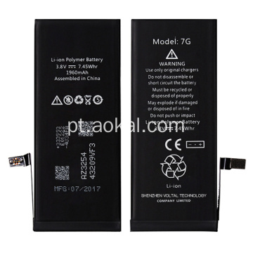 Brandnew iPhone 7 Alterar bateria de substituição Original Recall