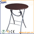Restaurant round folding table tops