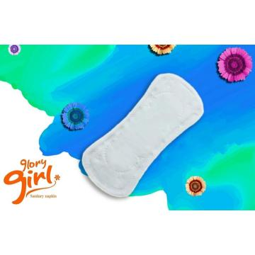 Pure cotton panty liners with flavor