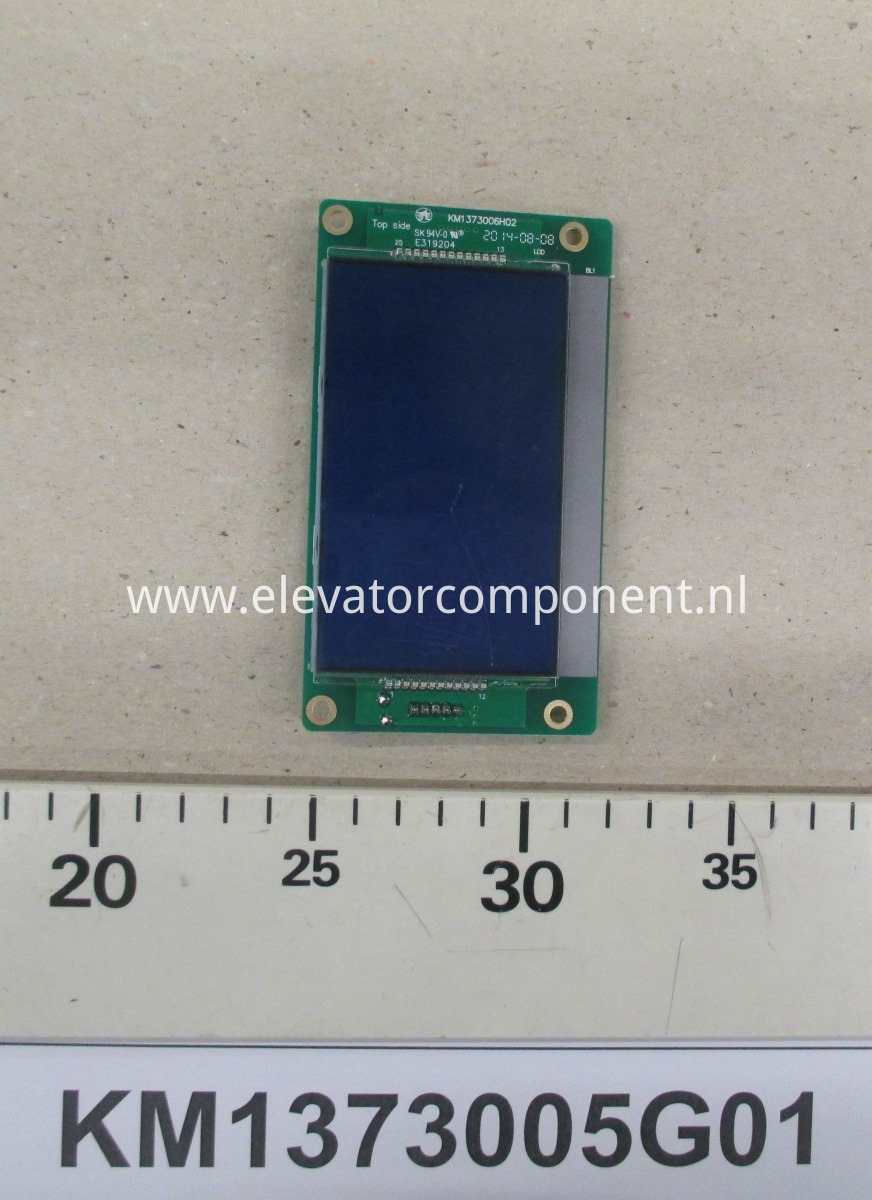 KONE Elevator LCD Display Board KM1373005G01