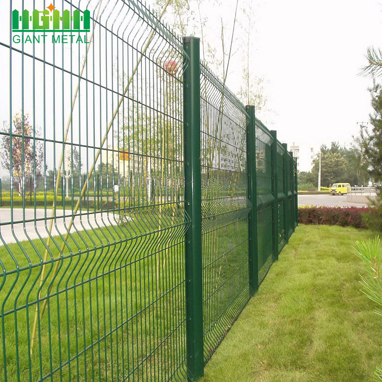 Garden Curved Home Welded 3D Wire Mesh Fence