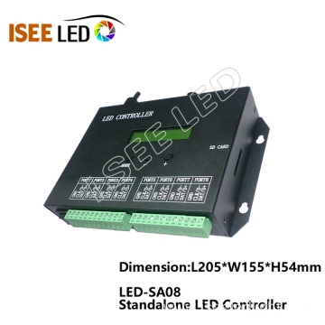 8 outport LED pixel SD card controller